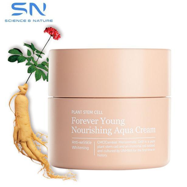 Kem Tế Bào Gốc Dưỡng Trắng Căng Mượt Da SN Forever Young Nourishing Aqua Cream - 2649242 , 369119523 , 322_369119523 , 920000 , Kem-Te-Bao-Goc-Duong-Trang-Cang-Muot-Da-SN-Forever-Young-Nourishing-Aqua-Cream-322_369119523 , shopee.vn , Kem Tế Bào Gốc Dưỡng Trắng Căng Mượt Da SN Forever Young Nourishing Aqua Cream