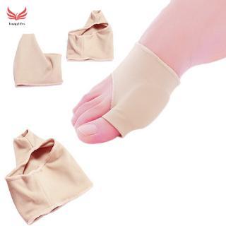 [Hàng mới về] Đôi vớ nylon có độ co giãn hỗ trợ tách ngón chân bảo vệ ngón chân cái