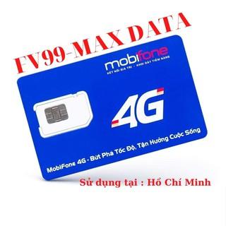 Sim mobifone fv99 vào mạng không giới hạn , sử dụng tại HCM thumbnail