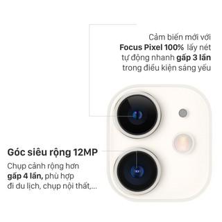 Hình ảnh Điện thoại Apple iPhone 11 64GB - Hàng Chính Hãng VN/A-4