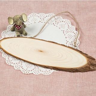 Miếng gỗ bầu dục 9*28cm cho bé sáng tạo