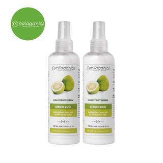 Combo 2 Serum bưởi kích thích mọc tóc Milaganics (250ml chai)