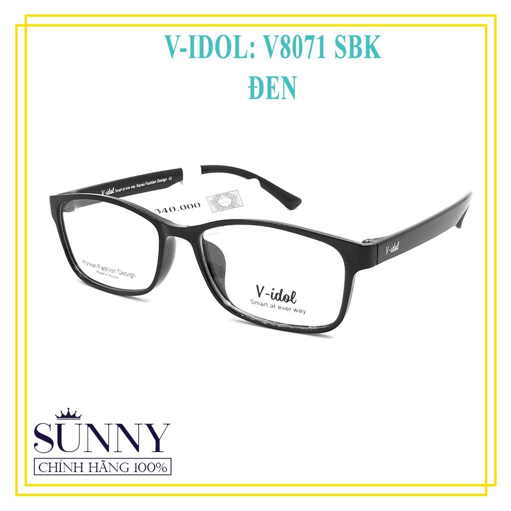 Gọng kính Vidol chính hãng có kèm tem chống hàng giả của bộ công an (full box)