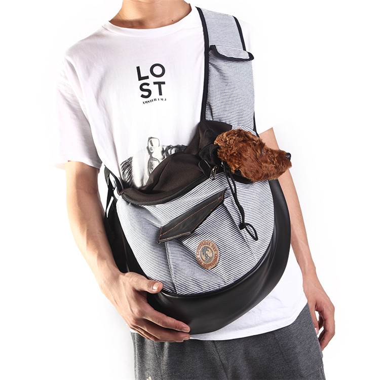 ถุงสัตว์เลี้ยงออกกระเป๋าพกพาแมวสุนัขเดินทางแบบพกพาสะพายสะพายกระเป๋าสะพายระบายอากาศสุขภาพวัสดุ
