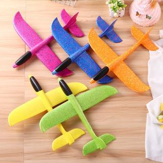 Kids Hand Throw Flying Glider Planes Foam Aircraft Model Outdoor Toys for Children Boys Airplane