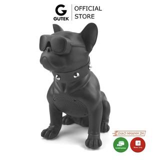 Loa bluetooth nghe nhạc siêu bass không dây Gutek CH-M10 hình con chó Bull