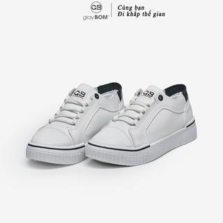 Giày bata nữ giayBOM CLASSICS đế cao 3 cm B1129 thumbnail
