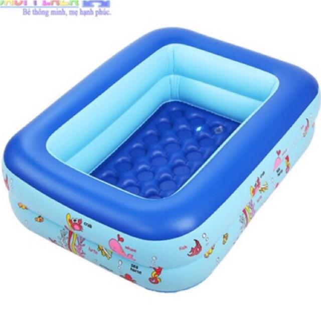 Ma TOYT7 giảm 10% Bể 120cm tặng kèm 5 bóng và 2 vịt thả bồn tắm cho bé