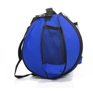 Túi đựng bóng rổ, có ngăn đựng bình nước, ngăn nhỏ đựng phụ kiện chất liệu cao cấp POPO Collection (Xanh biển)