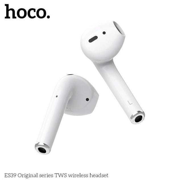 Tai nghe Bluetooth hoco es39 đổi tên định vị sạc không dây BH 12T chức năng như airpods 2 I500 I200 I1000 I100 I30 I10