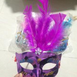 Mặt nạ hóa trang lông vũ nhiều màu sắc M351-MM68 rẻ như cho MÃ SP IN9324