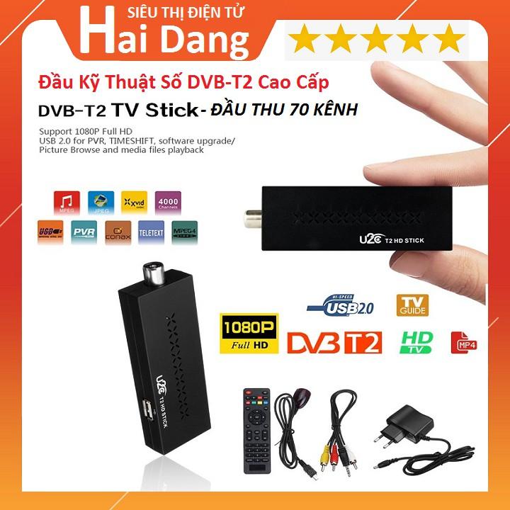 Đầu Thu Kỹ Thuật Số Mặt Đất, Truyền Hình Kỹ Thuật Số Mặt Đất DVB-T2, Hd 1080P DVB T2 Mini