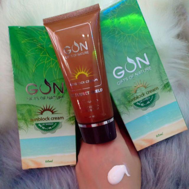 KEM CHỐNG NẮNG VẬT LÝ GON(sunblock cream) | Shopee Việt Nam