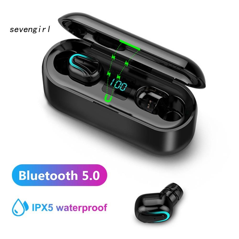 Tai Nghe Nhét Tai Không Dây Q32-1 Tws Kết Nối Bluetooth 5.0 Kèm Hộp Sạc