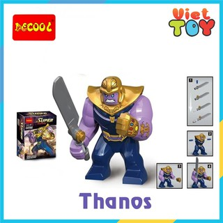 Mô hình Big Figures lego Avenger ác nhân Thanos - 8002 thumbnail