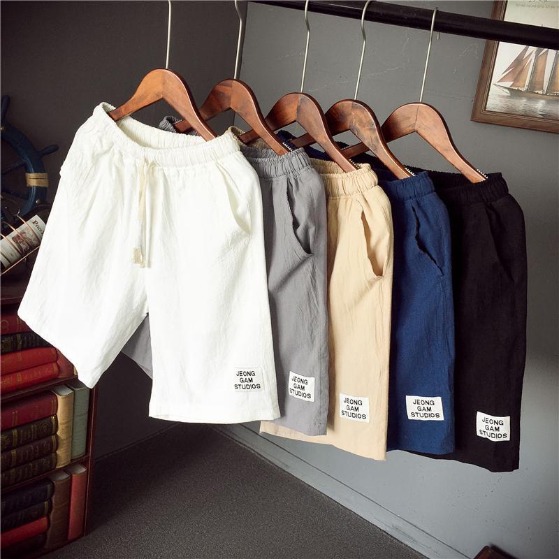 Quần short nam lưng thun thời trang