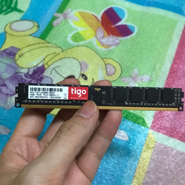 Ram Tigo 4GB DDR3 Bus 1600 MHz Giá chỉ 343.000₫