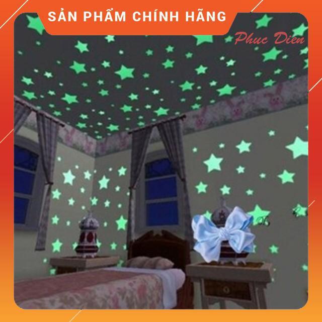 [MAX RẺ]  Combo 100 ngôi sao dạ quang phát sáng cực đẹp