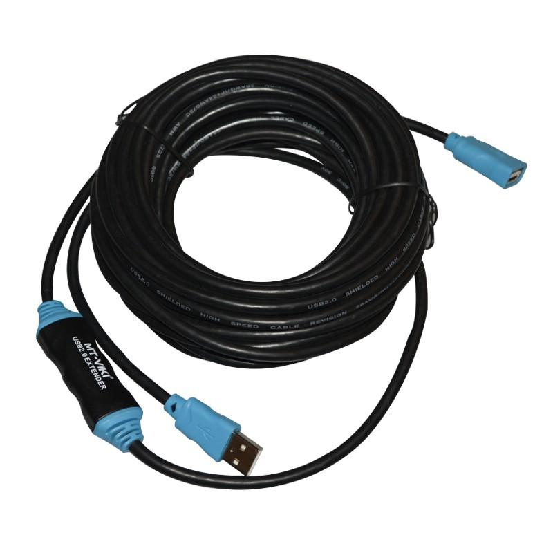 Cáp nối dài USB 10m Có IC khuếch đại tín hiệu VIKI - Dây nối dài usb 10m MT- Viki - 3511946 , 999528412 , 322_999528412 , 229000 , Cap-noi-dai-USB-10m-Co-IC-khuech-dai-tin-hieu-VIKI-Day-noi-dai-usb-10m-MT-Viki-322_999528412 , shopee.vn , Cáp nối dài USB 10m Có IC khuếch đại tín hiệu VIKI - Dây nối dài usb 10m MT- Viki