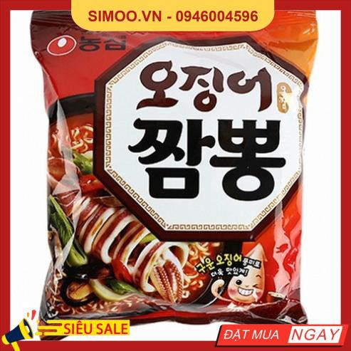 Mỳ Hải Sản Jambong New NongShim (124g) - Nhập Khẩu Hàn Quốc