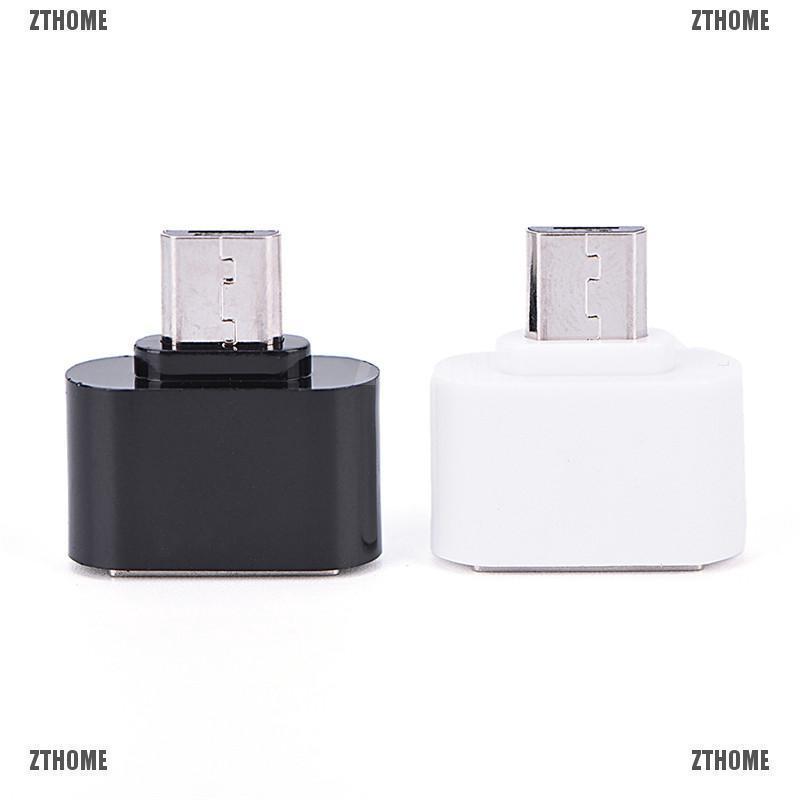 Dây cáp OTG chuyển đổi Micro USB sang USB cho điện thoại Android Samsung Xiaomi HTC Sony LG