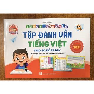 Sách - Tập Đánh Vần Tiếng Việt - Bí Quyết Giúp Con Đọc Tiếng Việt Thông Thạo (4-6 tuổi) phiên bản mới