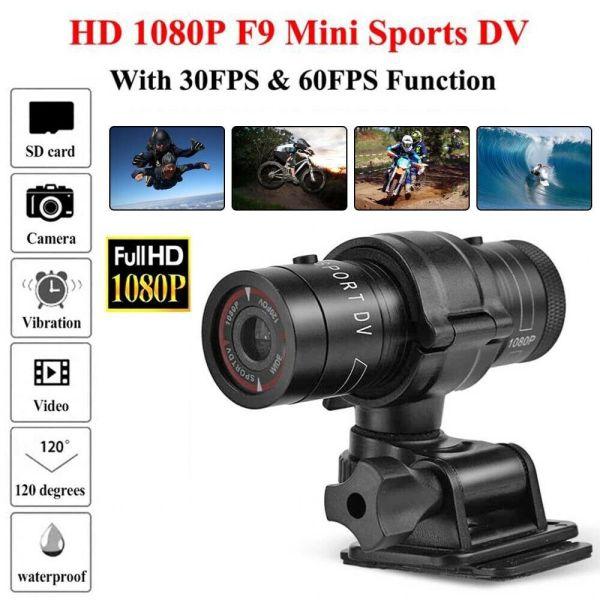 Waterproof Motor Bike Motorcycle Action Helmet Sports Camera Cam FULL HD 1080P Giá chỉ 777.000₫