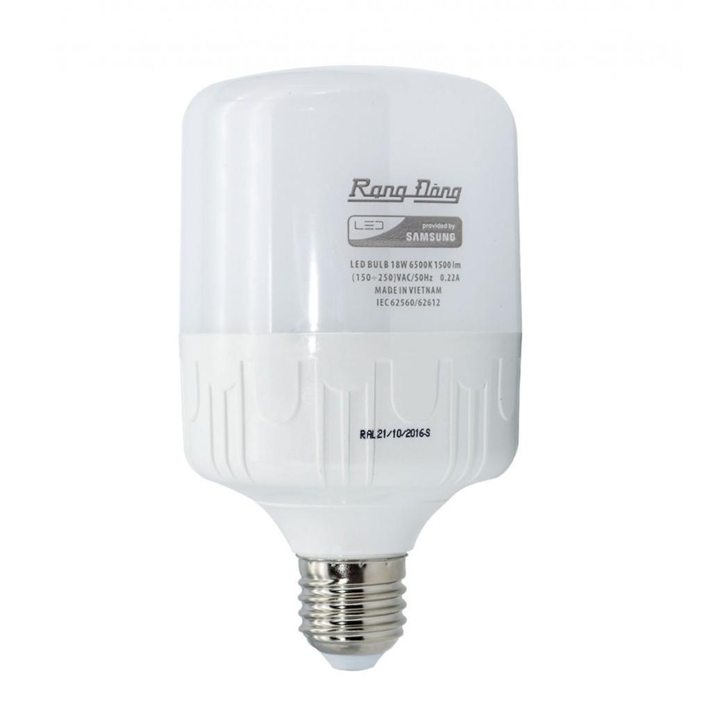 Bóng đèn Rạng Đông 60W LED Bulb trụ E27
