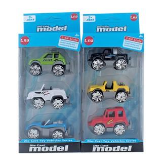 Bộ 3 xe mô hình kim loại TNA TN-1018F