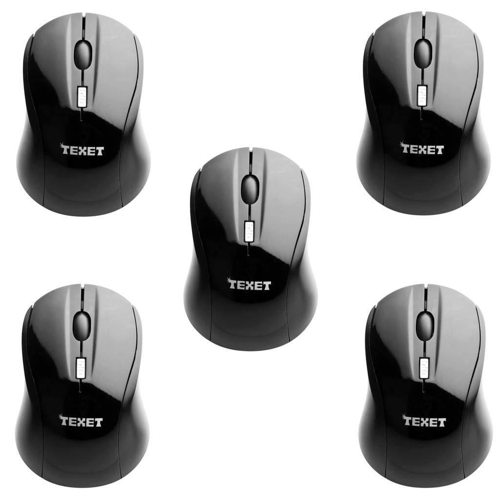 Bộ 5 chuột không dây TEXET (Đen) - 2613780 , 54949294 , 322_54949294 , 750000 , Bo-5-chuot-khong-day-TEXET-Den-322_54949294 , shopee.vn , Bộ 5 chuột không dây TEXET (Đen)