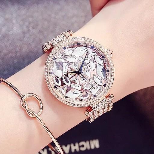 Đồng hồ nữ Mashali hàng chính hãng dây kim loại sang trọng