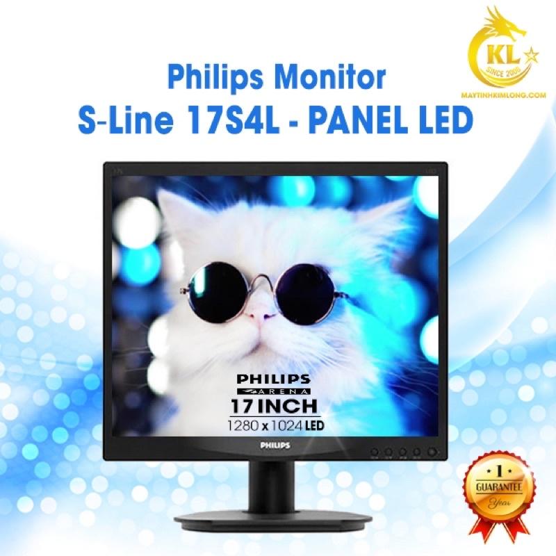 Màn Hình Philips 17 inch Cũ - Likenew 95% - Tặng Kèm Cáp