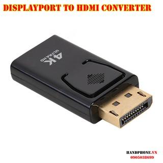 Cổng chuyển đổi DisplayPort to HDMI Adapter AV Converter 1080P 2K 4K mạ vàng ko