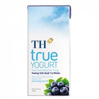 Sữa chua uống hương Việt Quất tự nhiên 180ml