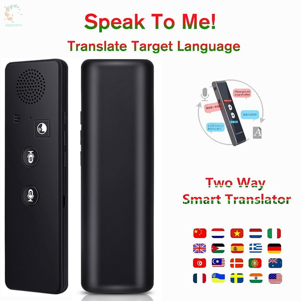 [BEST] Smart Translator Bluetooth Instant Vocal Portable Translator Support 40 Languages