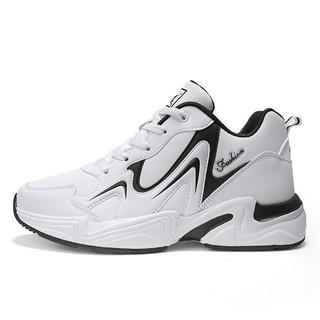 Giày tăng chiều cao nam – Giày thể thao nam sneaker màu trắng
