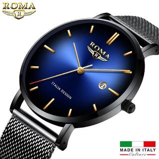 Đồng Hồ Nam ROMA ITALIA Mặt Chuyển Màu Nghệ Thuật - Dây Titanium Siêu Bền thumbnail