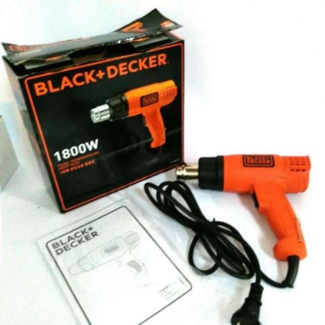 KX1800 Máy khò thổi nhiệt 1800w Black & Decker