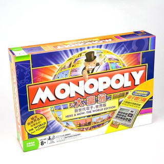 Tò chơi Cờ Tỷ Phú Monopoly Here & Now: The World Edition