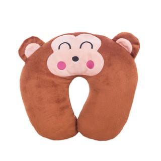 Cartoon bear U-shaped pillow pillow cushion plush cartoon U-shaped pillow children birthday gift girl