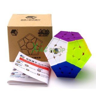 Rubik Yuxin Megaminx 12 mặt – Stickerless – Không viền