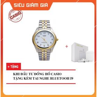 Đồng hồ nam dây kim loại Casio chính hãng Anh Khuê MTP-1129G-7BRDF - cã tem chính hãng