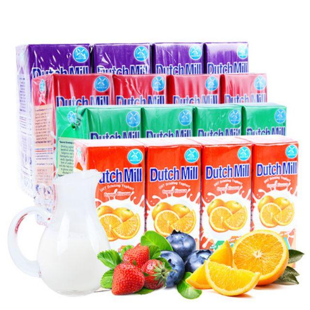 Combo 6 lốc sữa chua uống DUTCH MILL 180ml mix tùy ý 4 vị Cam/Dâu/Mixed Berries/Mix Fruits - tặng bình nước - 14874737 , 1988473279 , 322_1988473279 , 198000 , Combo-6-loc-sua-chua-uong-DUTCH-MILL-180ml-mix-tuy-y-4-vi-Cam-Dau-Mixed-Berries-Mix-Fruits-tang-binh-nuoc-322_1988473279 , shopee.vn , Combo 6 lốc sữa chua uống DUTCH MILL 180ml mix tùy ý 4 vị Cam/Dâu