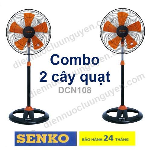 COMBO 2 CÂY QUẠT ĐỨNG CÔNG NGHIỆP SENKO DCN108
