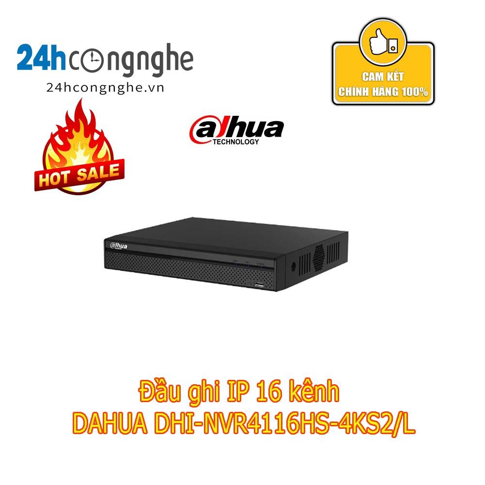 Đầu ghi IP 16 kênh DAHUA DHI-NVR4116HS-4KS2/L