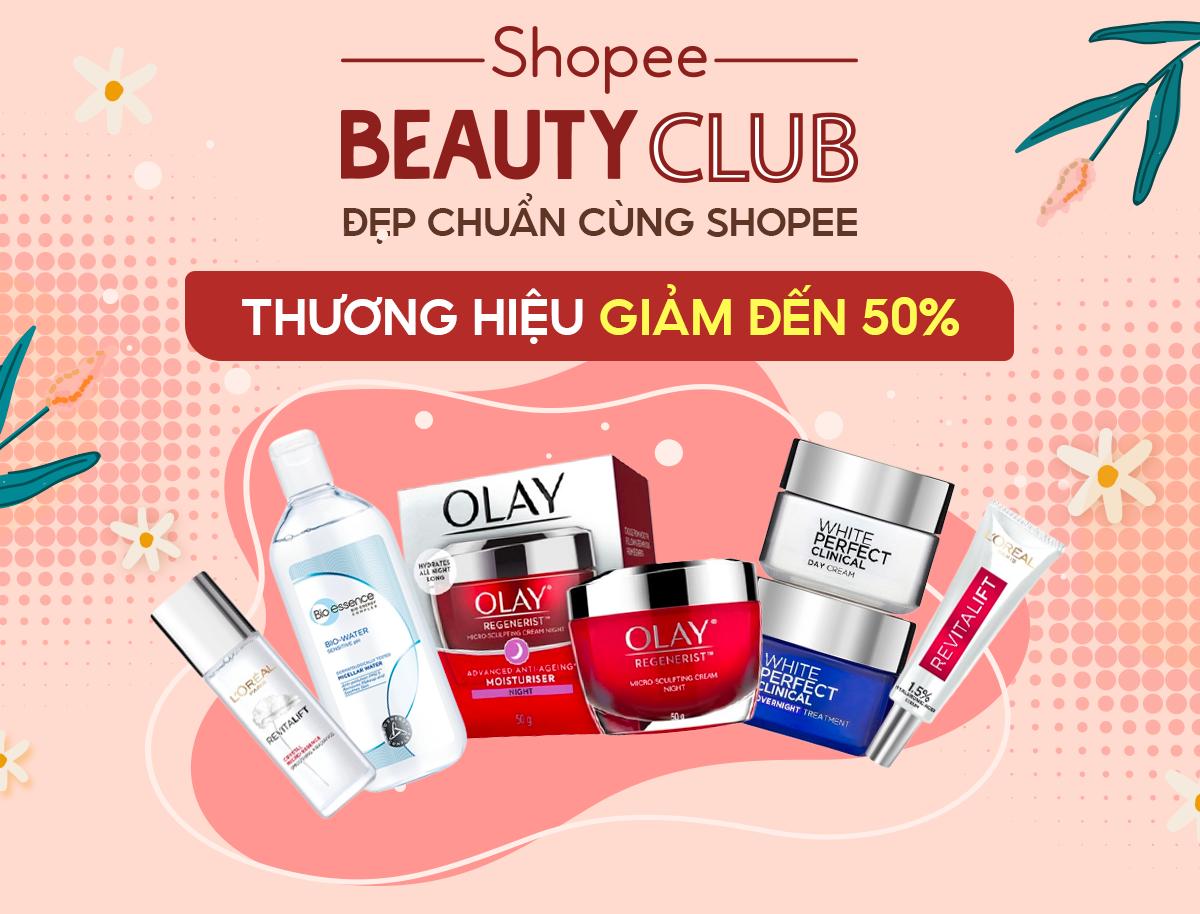 Shopee Beauty Club - Deal mỹ phẩm chất lượng
