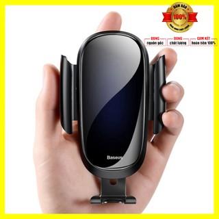 Giá đỡ điện thoại nhãn hiệu Baseus gắn trên cửa gió điều hòa ô tô xoay 360 độ SUYL-WL01 - Bảo hành 6 tháng