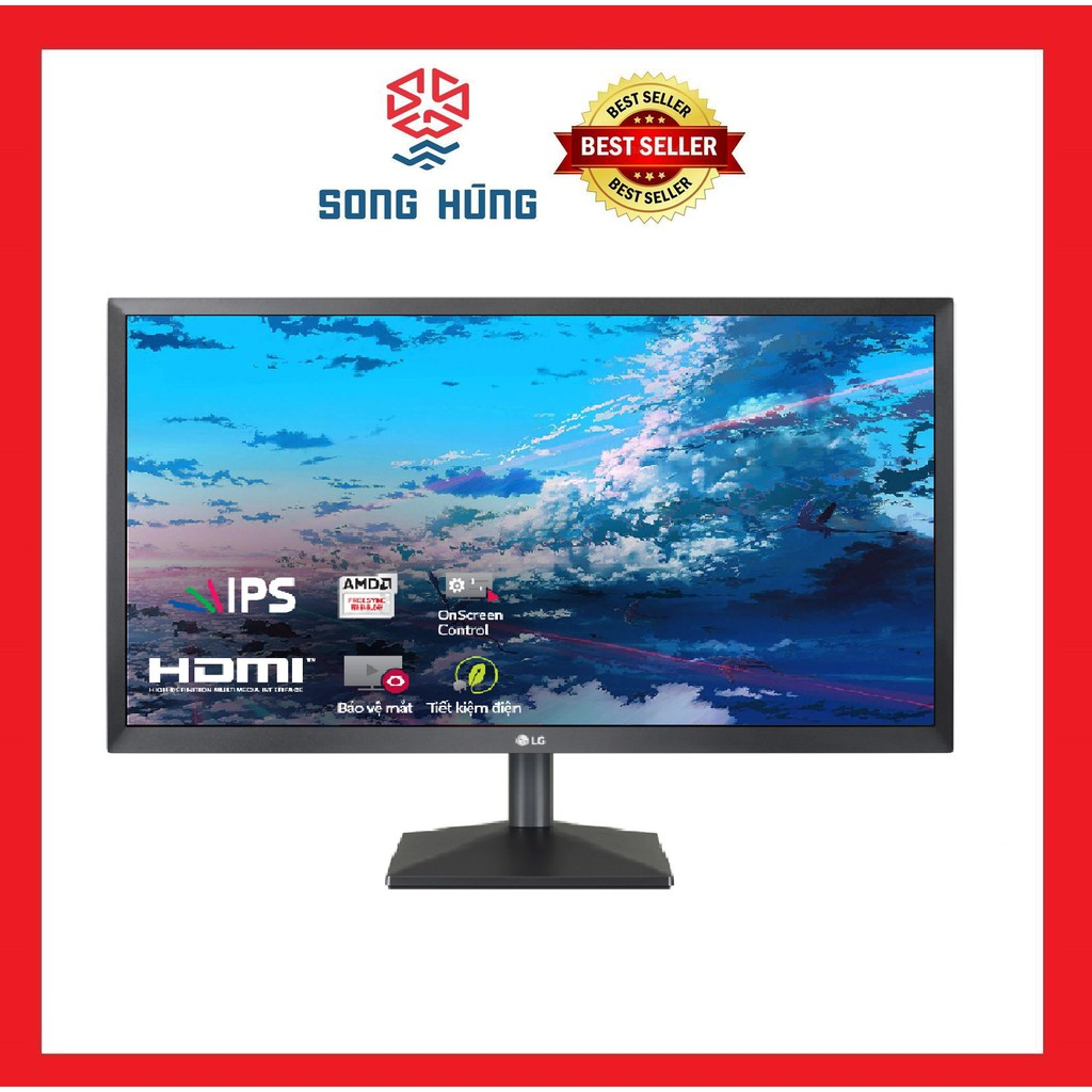 Màn hình LG 24MK430H-B (23.8 inch/FHD/LED/IPS/250cd/m²/HDMI+VGA/75Hz/5ms)