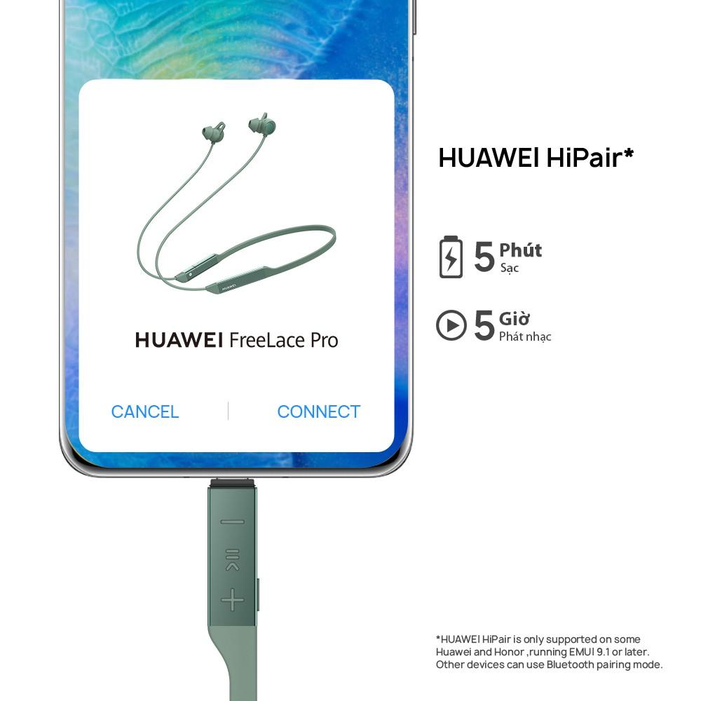 [Mã ELMALL300K giảm 5% đơn 500K] Tai nghe HUAWEI FreeLace Pro