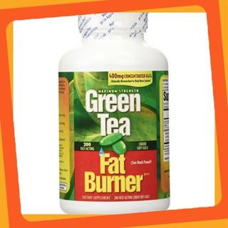 SĂN SALE 50% Viên uống giảm cân từ trà xanh Green Tea Fat Burner 200 viên của Mỹ thumbnail